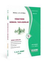 Aöf Yönetimde Güncel Yaklaşımlar 3. Sınıf Güz Dönemi Konu Anlatımlı Soru Kitabı Tek Egem Yayınları