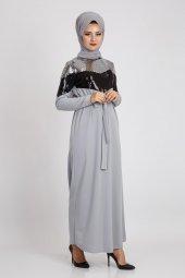 Loreen Kadın Gri Elbise 22097