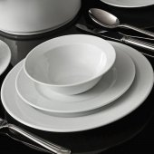 Kütahya Porselen Zümrüt Beyaz 24 Parça Yemek...