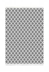 Belemir K282 Oge Gri Beyaz Dekoratif Halı