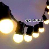 Sıralı Işık Seyyar Bahçe Aydınlatması 2x2,5mm Kablolu 5 Metre