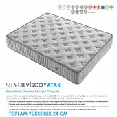 Kupons Silver Yaylı Visco Yatak 200x200 Cm