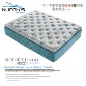Kupons Bioenerji Pedli Yaylı Visco Yatak 90x190 Cm