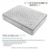 Kupons Visco Relax Yaylı Visco Yatak 120x200 Cm Yastık Hediye