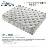 Kupons Bamboo Ortopedik Yaylı Yatak 160x200 Cm