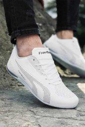 2019 F Marka 6040 Beyaz Erkek Spor Ayakkabı