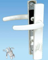 Eva Kapı Kolu Aynalı Pvc Plastik Yaylı Beyaz Wc