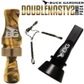 Buck Gardner Double Nasty 2 Ördek Düdüğü Seti Camo
