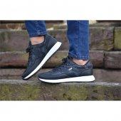 Yezz 2025 06 Siyah Beyaz Erkek Günlük Spor Ayakkabı