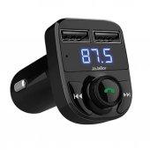 Car X8 Led Bluetooth Fm Transmitter Araç Kiti Usb ...