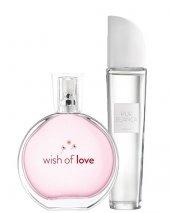 Avon Wish Of Love Edt Bayan Parfüm Ve Avon Pur Blanca 2 Li Set