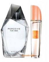 Avon Perceive Erkek Parfüm Edt 100 Ml + Avon Pur Blanca Smile