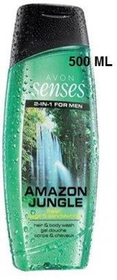 Avon Senses Amazon Jungle Saç Şampuanı Ve Duş Jeli 500 Ml