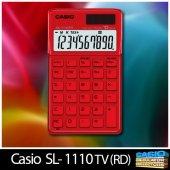 Casio Sl 1110tv Burning Red Hesap Makinesi