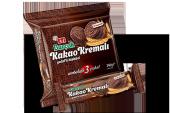 Burçak Kakao Kremalı Yulaflı Bisküvi 82 Gram 12 Adet