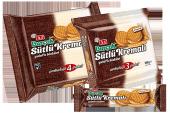 Burçak Sütlü Kremalı Yulaflı Bisküvi 100 Gram 12 Adet