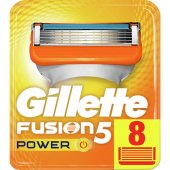 Gillette Fusion Power 8' Li Yedek Tıraş Bıçağı Karton Paket