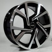Slk 1690 6.5 X 16 5x112 Et45 57.1 Black Machıne Xl