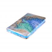 Candy Croc 9x14 Cm 80 Yaprak Çizgili Ciltli Mavi B...