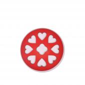 Nerox Nrx 245 Kalpli Kırmızı Yuvarlak Ahşap...