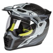 Klim Krios Pro Karbon Adv Motosiklet Kaskı (Arsenal Gri)
