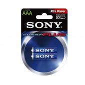 Sony Am4 B2a Alkalin 2li İnce Pil (Aaa)
