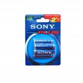 Sony Am4 B4x2a Alkalin 6lı İnce Pil (Aaa)