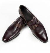 Deepsea Bordo Kilim Desenli Neolit Taban Rugan Erkek Ayakkabı 1909190