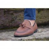 Shoes 201 Taba Erkek Klasik Ayakkabı