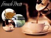 French Press Süzgeçli Çay Ve Kahve Kupası Dev Boy