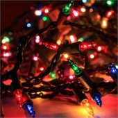 Yılbaşı Işığı Renkli Ağaç Işıklandırması Yanıp Sönen 50li Led