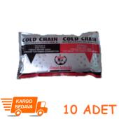 Soğuk Termo Jel Kompres Buz (17,5x12) Cm 10 Adet