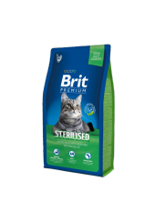 Brit Premium Sterilised Kısırlaştırılmış Tavuklu Kedi Maması 8 Kg