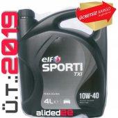 Elf Sporti Txı 10w 40 4 Litre Motor Yağı Benzin , ...