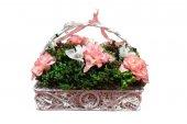 Primanova D D70112 Dekoratif Çiçek Tutacaklı Sepet...