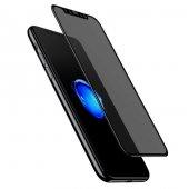 Apple İphone X 0.23mm Kırılma Karşıtı Kenar Temperli Cam Filmi