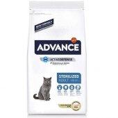 Advance Sterilized Kısırlaştırılmış Hindi Etli Kedi Maması 15 Kg