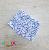 Lovetti Kız Çocuk Şort Mavi Çiçekli