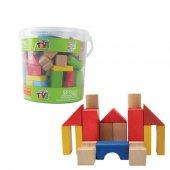 Neva Toys Oyuncak 107 Parça Ahşap Blok