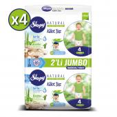 Sleepy Natural Külot Bez 4 Beden Maxi 4x2li Jumbo ...