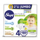 Sleepy Natural Bebek Bezi 4 Beden Maxi 3x2li Jumbo...