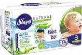 Sleepy Naturel Külot Bebek Bezi 3 Numara Mıdı 34 Adet
