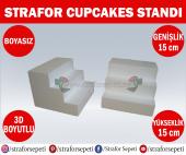 Strafor Sepeti Strafor Cupcakes Standı 15 Cm X 15 Cm X 15 Cm (2 Adet), Strafor Dekor, Strafor Parti, Strafor Doğum Günü