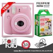 Fujifilm İnstax Mini 9 +20' Li Film+askı (Açık Pembe)