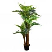 Euro Flora Yeşil Yapraklı Yapay Ağaç Hawaıı Palm 1...
