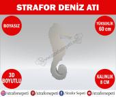 Strafor Sepeti Strafor Deniz Atı 60 Cm Boyasız, Strafor Dekor, Strafor Parti, Strafor Doğum Günü