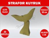 Strafor Sepeti Strafor Kuyruk 50 Cm Altın Yaldız Strafor Dekor, Strafor Parti, Strafor Doğum Günü