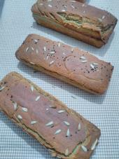Helaliye Glutensiz Karabuğday Ekmeği 100 Greçka Sütlü Ekşi Mayalı Ayçiçekli Çörekotlu Ekmek 750 G