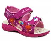 Gezer 7981 Fuşya Kız Çocuk Sandalet Cırtlı Yazlık ...