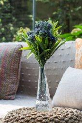 Allium Mor Yapay Çiçek